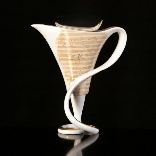 Antonin Dvorak Porcelain Coffee Set Creamer Limited Edition Crystallo by Thun Studio 6