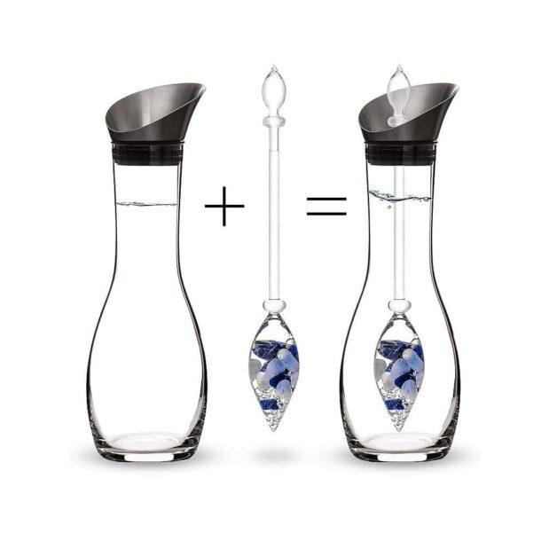 Balance ERA decanter gemstone vial how to set crystallo by vitajuwel
