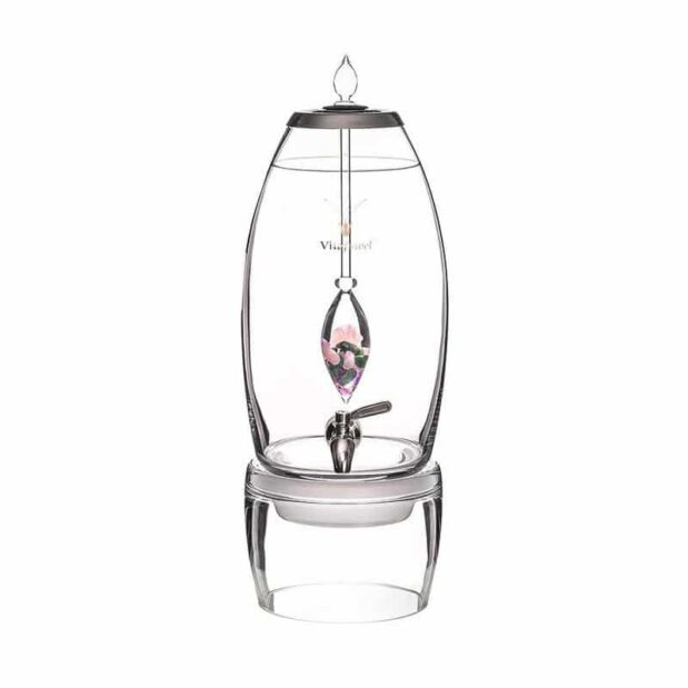 Beauty GRANDE dispenser gemstone vial set crystallo by vitajuwel sq80