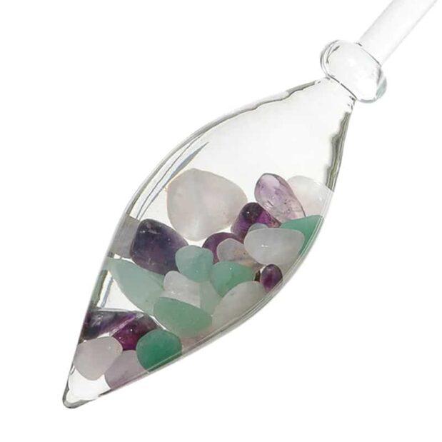 Beauty gemstone vial crystallo by vitajuwel dec sq80