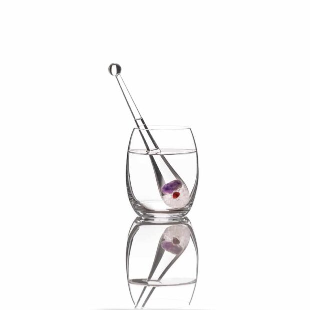 Droplet Vino gemstone vino glass crystallo by vitajuwel