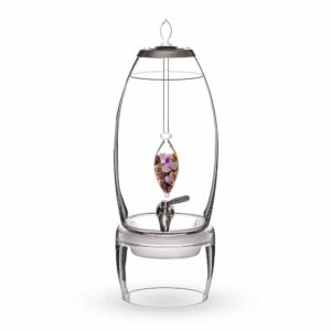Five Elements GRANDE dispenser gemstone vial set crystallo by vitajuwel sq10