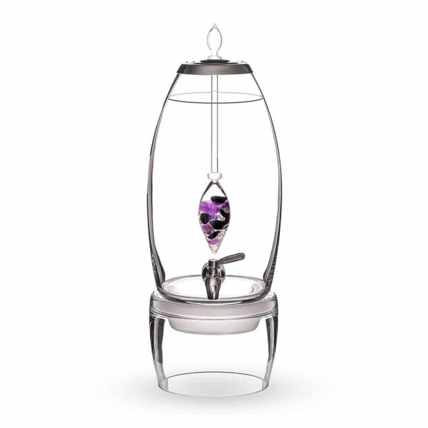 Guardian GRANDE dispenser gemstone vial set crystallo by vitajuwel sq10