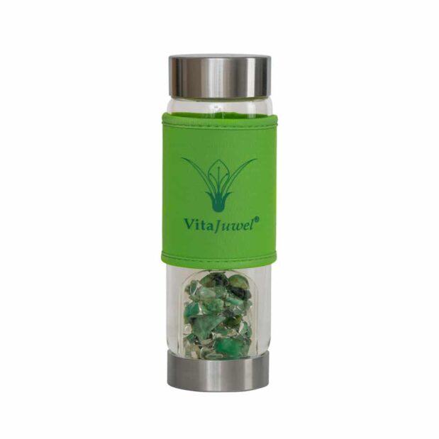 HUGS short green GemWater crystallo vitajuwelHUGS short green GemWater crystallo vitajuwel