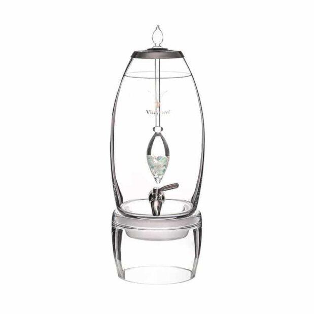 Inner Purity GRANDE dispenser gemstone vial set crystallo by vitajuwel sq80