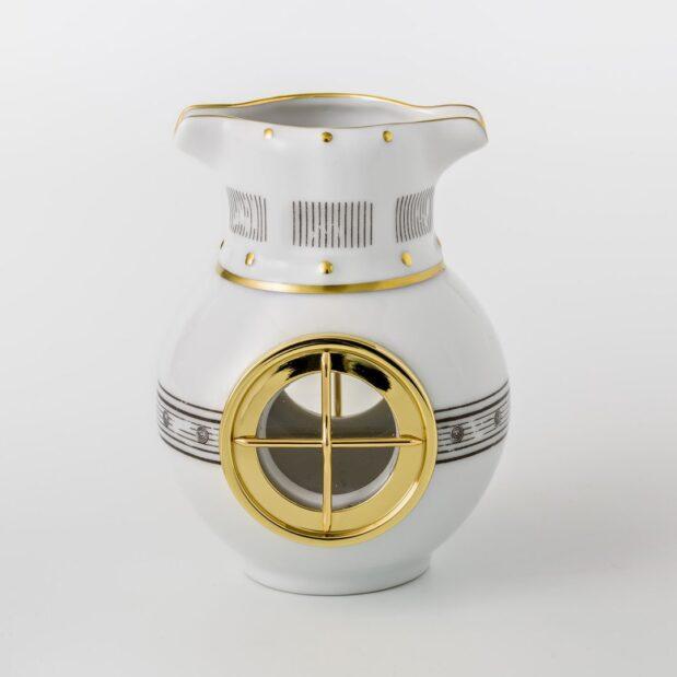 Jules Verne Porcelain Tea Set Creamer Limited Edition Crystallo by Thun Studio 1072e