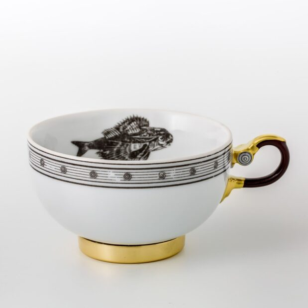 Jules Verne Porcelain Tea Set Cup Limited Edition Crystallo by Thun Studio 1066e
