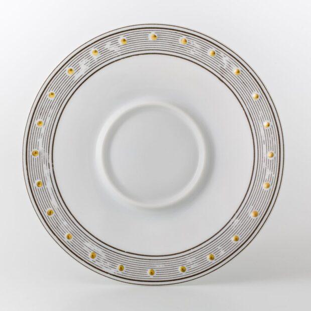 Jules Verne Porcelain Tea Set Saucer Limited Edition Crystallo by Thun Studio 1069e