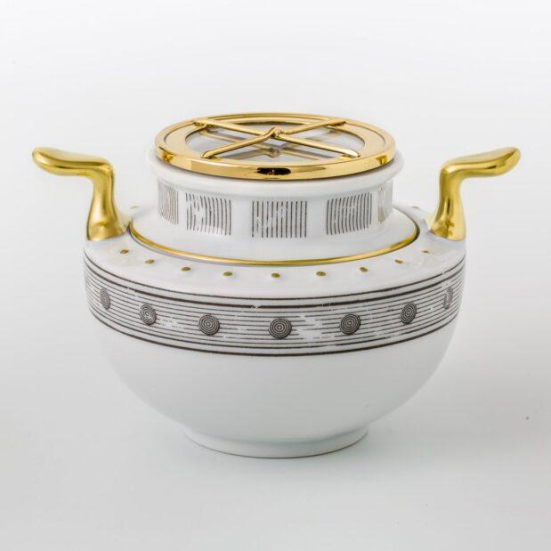 Jules Verne Porcelain Tea Set Sugal Bowl Limited Edition Crystallo by Thun Studio 1051e