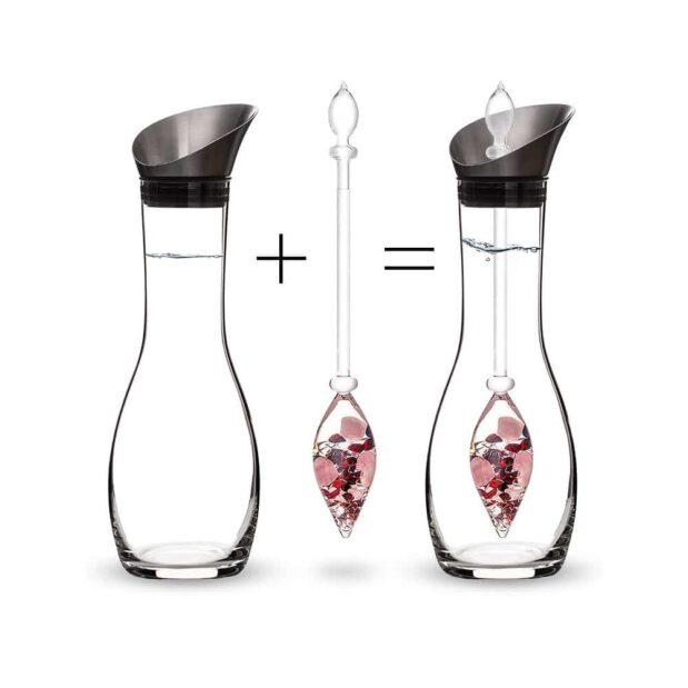Love ERA decanter gemstone vial how to set crystallo by vitajuwel