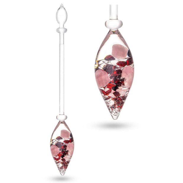 Love gemstone vial crystallo by vitajuwel double