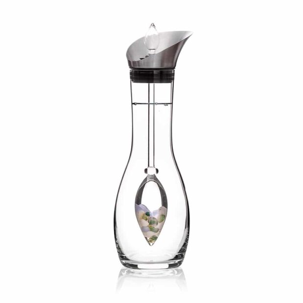 Momentum ERA decanter gemstone vial set crystallo by vitajuwel