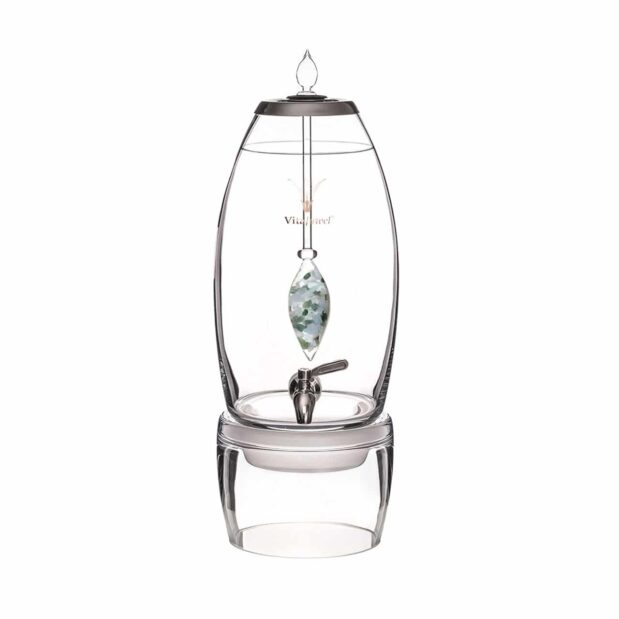 Momentum GRANDE dispenser gemstone vial set crystallo by vitajuwel