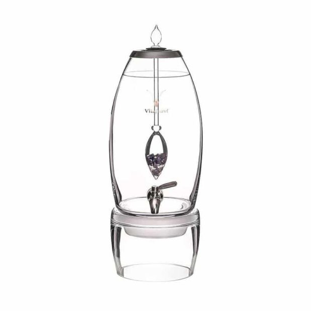 Vision GRANDE dispenser gemstone vial set crystallo by vitajuwel sq80