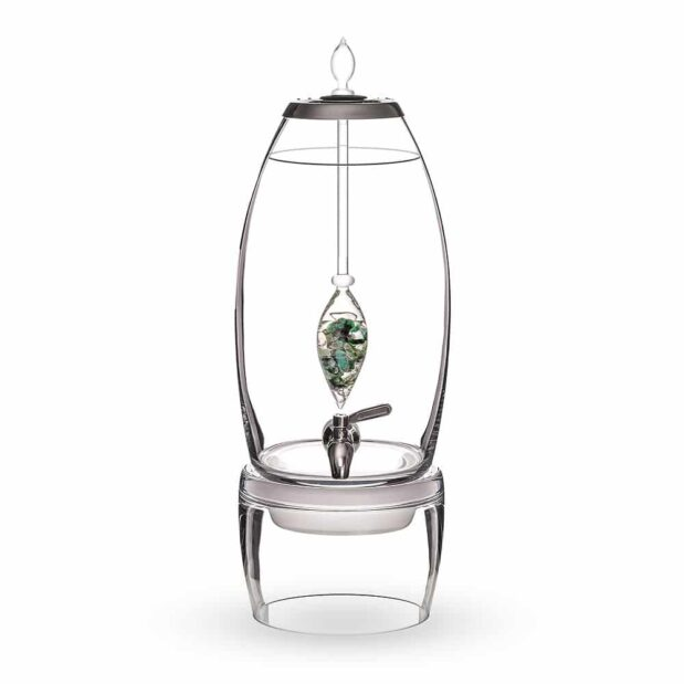 Vitality GRANDE dispenser gemstone vial set crystallo by vitajuwel sq10