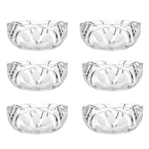crystal nut bowl set nostalgia art deco Crystallo BG202NS 6