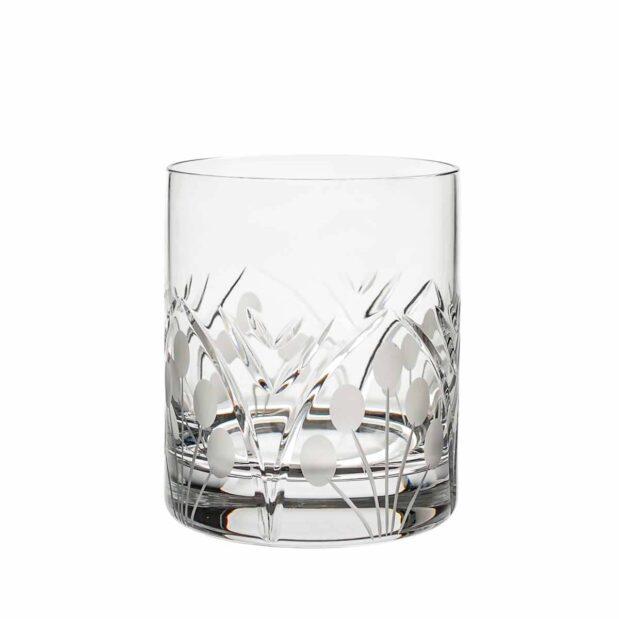 crystal old fashioned glass nostalgia art deco Crystallo BG303NS