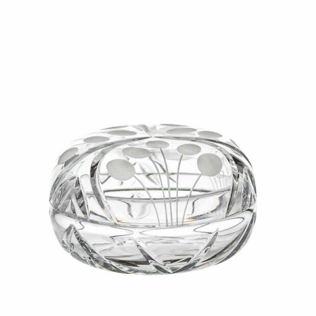crystal ring bowl nostalgia art deco Crystallo BG208NS A