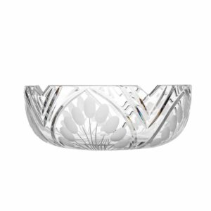 crystal salad bowl nostalgia art deco Crystallo BG203NS